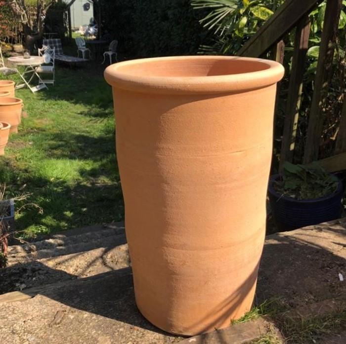 SOLINA Cretan Terracotta Pot Planter from Northern Crete – Large 55cm X 37cm – Handmade – £95.00