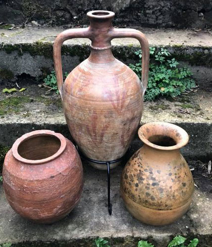 Antique Wine & Water Storage Pots