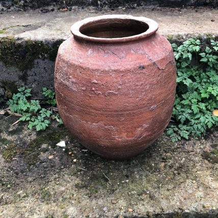 SORRY, NOW SOLD – Antique Water Urn from Inland Turkey – Beautiful Patina & Texture – £45