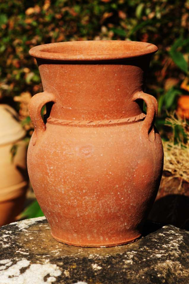 SORRY, NOW SOLD – Water Urn/Jar from Inland Turkey – Lovely & Unusual Shape – £30