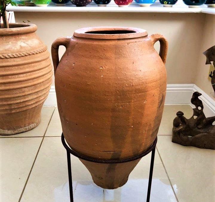Antique Water/Wine Storage Pot from the Inland Region of Turkey – 2 Handles – £150